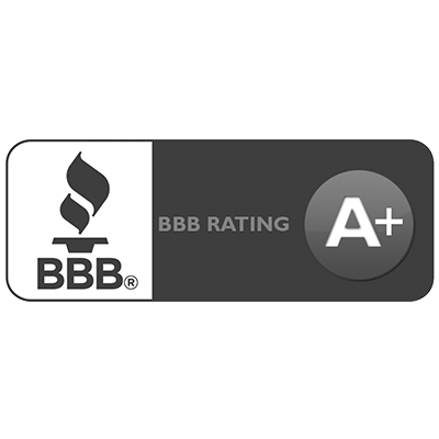 Better Business Bureau Rating Logo A+