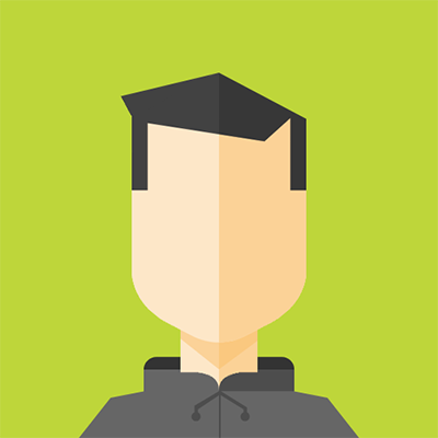 Employee Avatar with green background