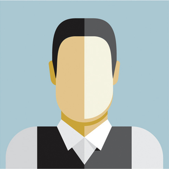 Grey background Employee Avatar